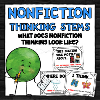 Nonfiction Thinking Stems