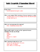 Non Fiction Visuals: Lesson Plan and Planning Sheet for In