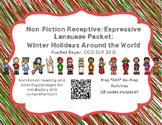 Non-Fiction Winter Holidays Speech & Language Packet