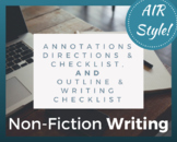 Non-Fiction Writing: Annotations, Outline, and Writing