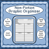 Non-Fiction Writing Graphic Organizer
