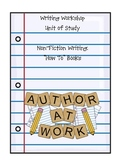 """Non-Fiction Writing: """"How To"""" Books"""