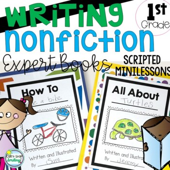 Nonfiction Writing Unit ~ Expert Books Kindergarten and 1st Grade