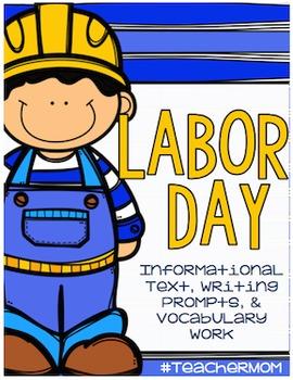 Non-Fiction Writing Packet: Labor Day {#TeacherMom}