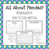 Non-Fiction Writing: Pandas!