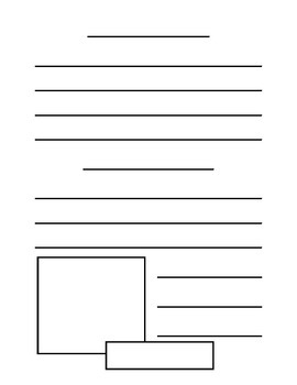 Non-Fiction Writing Paper Templates - 18 page options