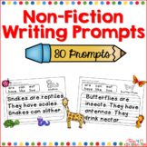 Non-Fiction Writing Prompts for Beginning Writers