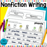 Non-Fiction Writing Prompts for Beginning Writers Vol. 2