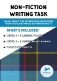Non- Fiction Writing - Scottish Inventions