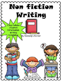 Non Fiction Writing templates ~ Lucy Calkins inspired!