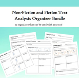 Non-Fiction and Fiction Analysis Bundle