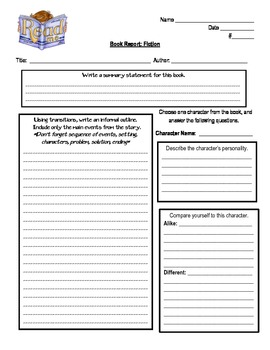 non fiction book report elementary school