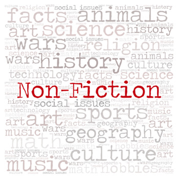 Non-Fiction library sign