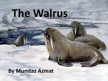 Non Fiction reader About The Walrus :