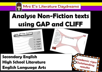 Nonfiction Text Analysis Worksheet