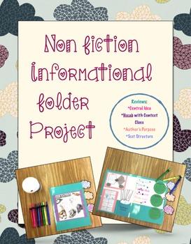 Non Fictional Informational Unit Project