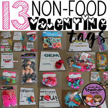Non Food Valentine Ideas And Tags By Rachelle Smith Tpt