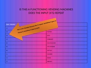 Non Functional Vending Machine