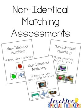 Non-Identical Matching Assessments