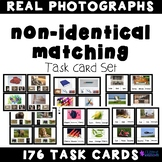 Non Identical Matching PHOTOGRAPH Task Cards
