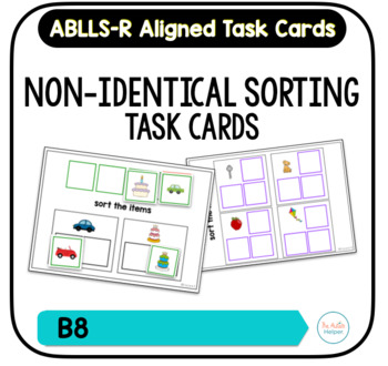 Non-Identical Matching Task Cards [ABLLS-R Aligned B8]