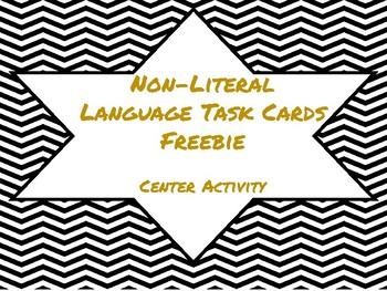 Non-Literal Language Task Cards!