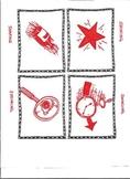 Non-Locomotor Body Storming Cards