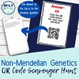 Non-Mendelian Genetics QR Code Scavenger Hunt