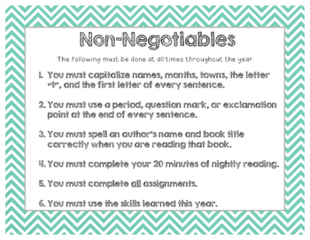 Balanced literacy non negotiables in dating