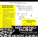 Non Perfect Squares Lesson for Interactive Notebooks