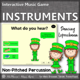 Non-Pitched Percussion Instruments Interactive Music Game