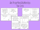 Non-Proportional Relationship Task Cards