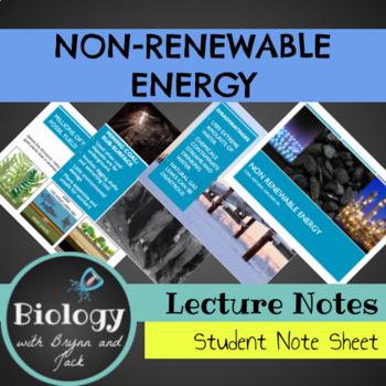 Non-Renewable Energy PPT