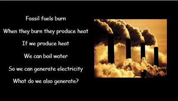 Non-Renewable Energy Resources - electrical generation