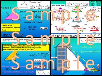 Non Right Angled Triangle Trigonometry - Chapter 9 - IB - SL