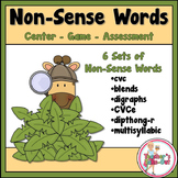 Non-Sense Words for Centers and Assessments Dollar Deal