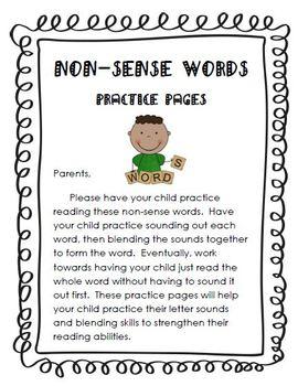 Non-Sense Words Practice