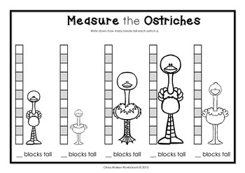 non standard measurement length worksheets for kindergarten grade one. Black Bedroom Furniture Sets. Home Design Ideas