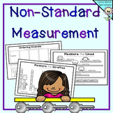 Non Standard Measurement - Length Worksheets for Kindergarten / Grade One
