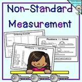 Non Standard Measurement - Length Worksheets for Kindergarten / Grade One