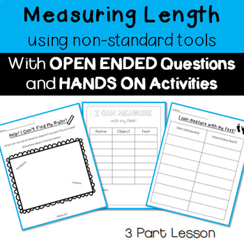 Non Standard Measurement 3 Part Lesson