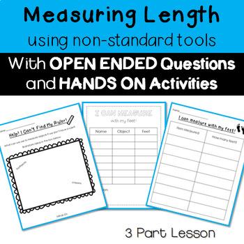 Non Standard Measurement 3 Part Lesson