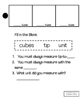 Non Standard Measurement Activities