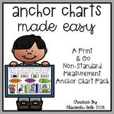 Non-Standard Measurement Anchor Charts Made Easy