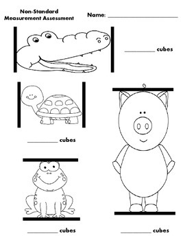 Free Non Standard Measurement Worksheets For Kindergarten