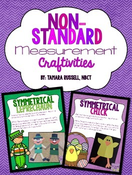 Non-Standard Measurement Craftivities for March and April
