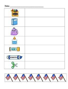 Non-Standard Measurement: Flags