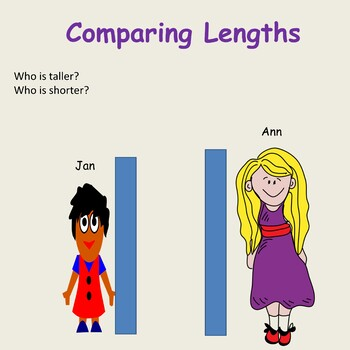 Non-Standard Measurement  - Length/Height, Presentation, Lesson Plan, Activity