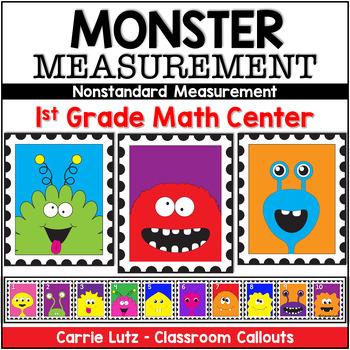 Non-Standard Measurement ~ Monster Measurement