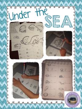 Non-Standard Measurement {Ocean Themed}